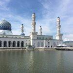 【コタキナバル市立モスク】見学手順と見所について