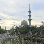 【コタキナバル】州立モスクの内部見学